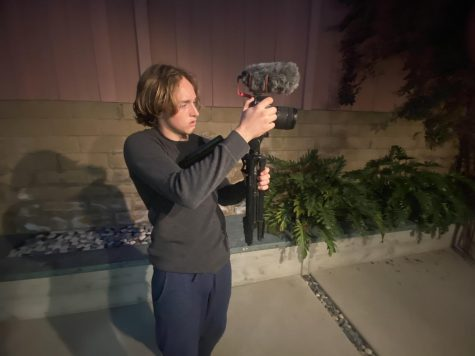 Kelly uses his video skills to to make meaningful stories posted on his YouTube channel. His creative skills come in handy when thinking of new ideas for skits that him and his friends perform.