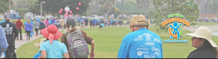 San Diego Brain Injury Recovery Walk