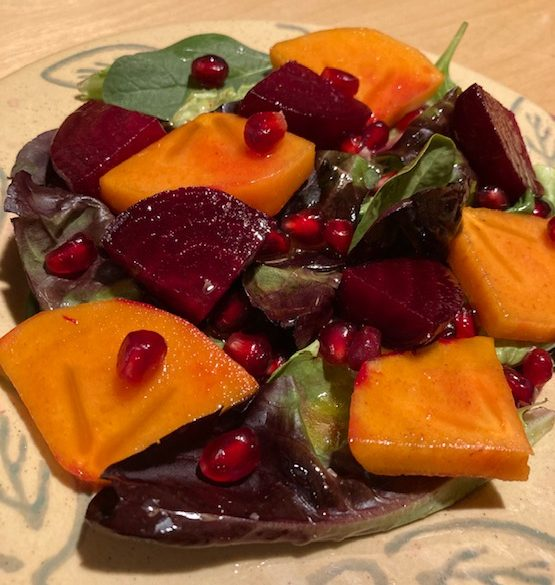 Grocery stores around Carlsbad have begun to sell glossy orange fall staples. However, finding tasty recipes to spice up this seemingly bland fruit can be difficult. By pairing mildly sweet persimmons with the earthy flavor of beets and tossing with a light citrus dressing, you will discover that fall produce isn't limited to pumpkins.