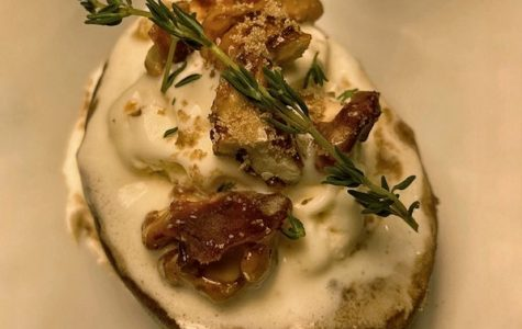 Baked Pears with Candied Walnuts and Thyme