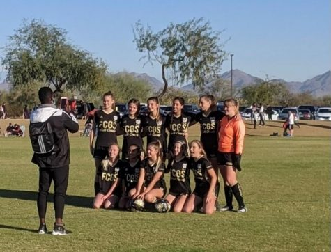 The FC Golden State North County girls U-15 team is pictured at their Nov. tournament in Arizona.