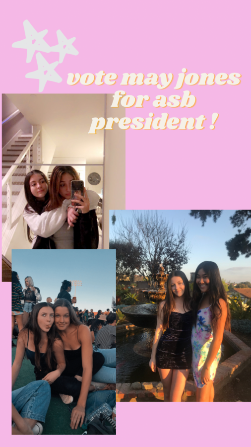 Junior May Jones is running for ASB President. Photo courtesy of May Jones.
