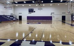 Carlsbad Highs old gymnasium is home to the volleyball seasons practices and games.