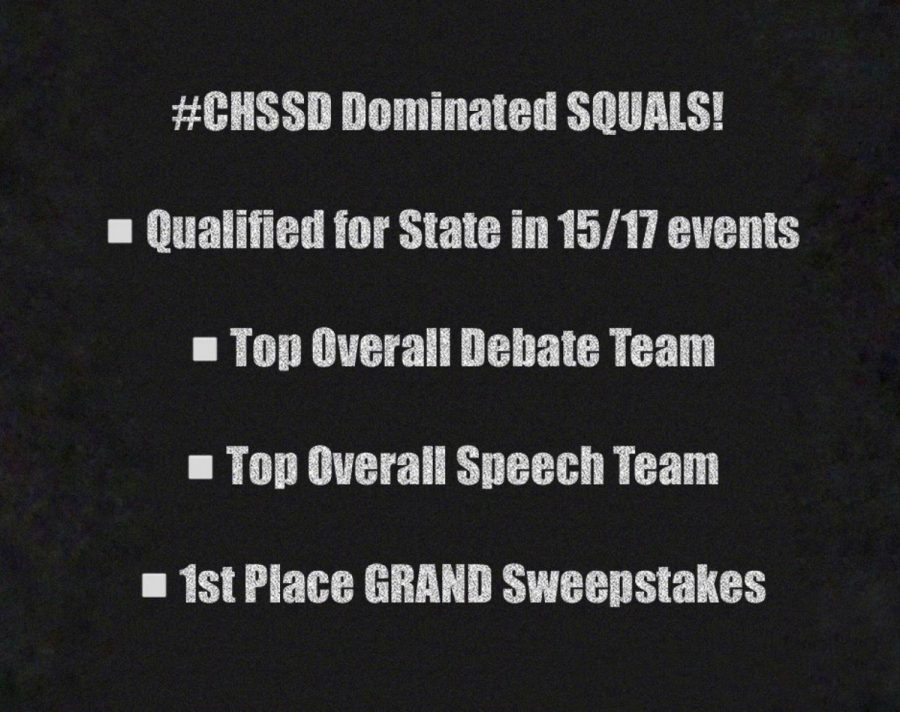 Speech and Debate tops regional and state rankings