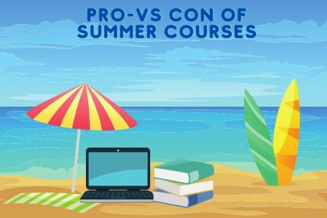 Summer courses can take up a chunk of summer but they do give a lot of benefits over time.