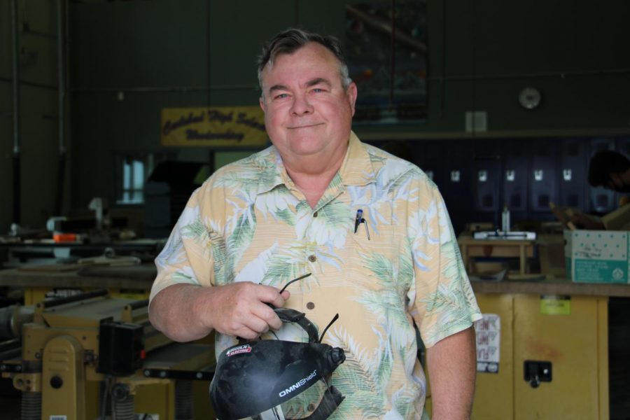 Mike Andrews: Woodworking & Engineering Design Teacher