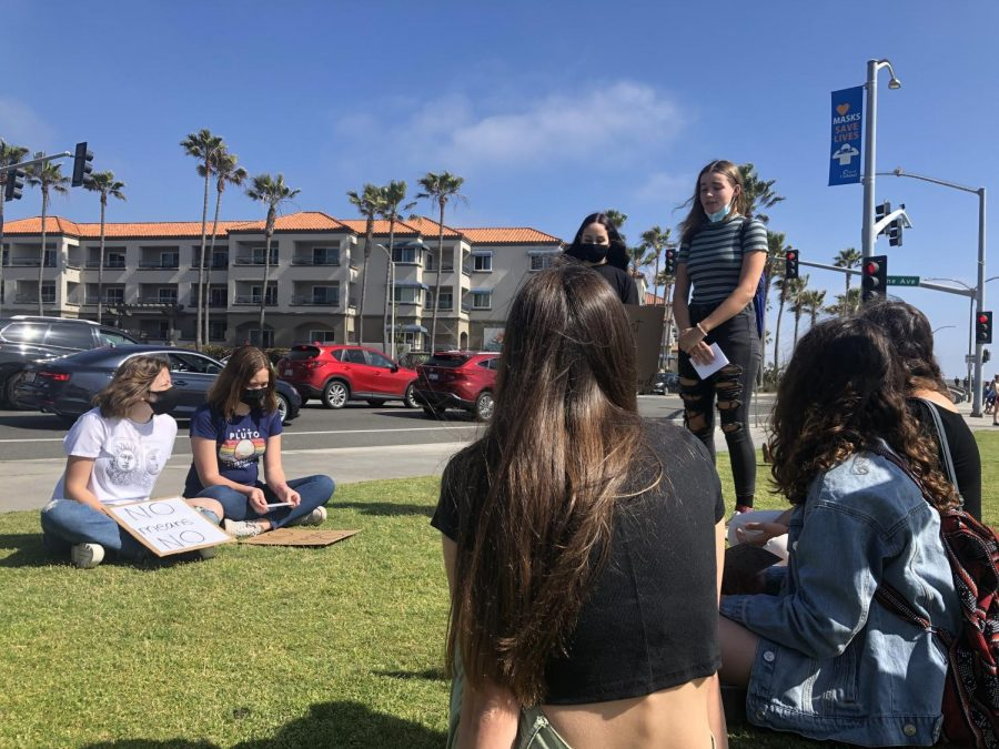 Organizers Carlin and Thim sit down with other women of Carlsbad to discuss how they felt about their safety.