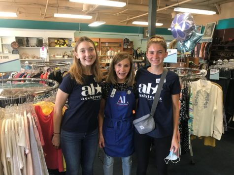 The Asisteens volunteer in local thrift shops around the community.