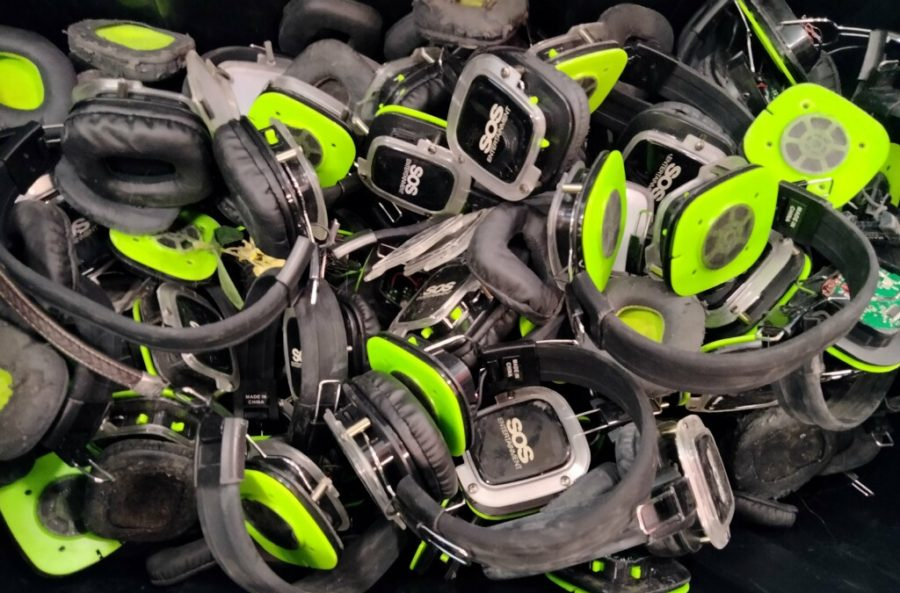 Dance attendees broke at least 60 sets of silent disco headphones at the dance. The company found many on the roof of the Old Gym. Once the final count of damaged units is determined, CHS will be responsible for paying to replace them at $80 a pair.